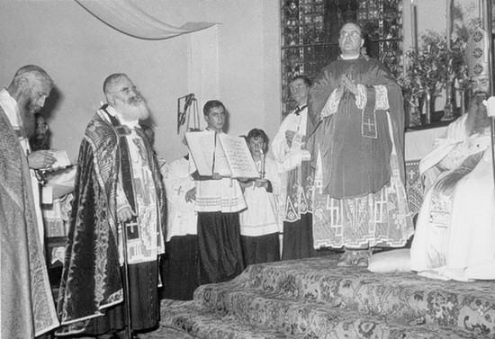 Consagración Episcopal de monseñor Guillermo Hartl, 1957