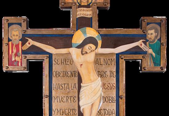 Cristo de la Parroquia Sagrada Familia. Río Negro, Osorno