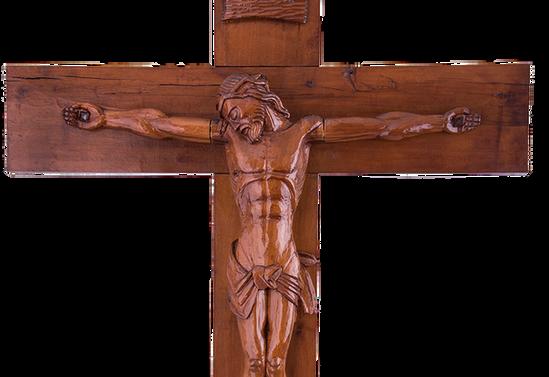 Cristo tallado del monasterio Santa Clara, Pucón