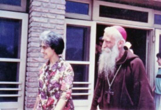 En el Centro Mariápolis de Espiritualidad Focolar, en Buenos Aires. 1968