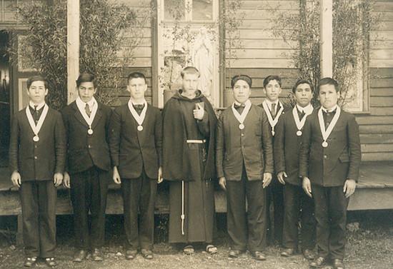 Curso de Filosofía del Seminario Mayor de San Fidel. C.1937