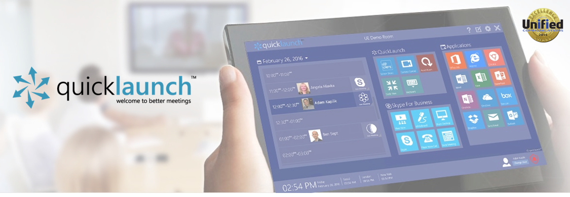 UC Workspace Quicklaunch | Surface Hub Alternative