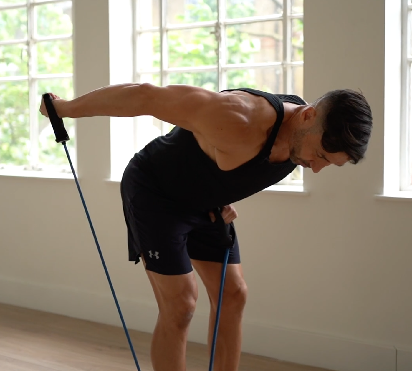 SUPERBAND 6 Exercise Timed Interval Push