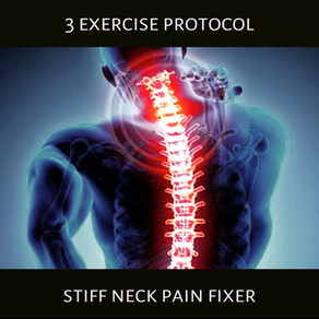 Exercise Protocols: Stiff Neck Pain Fixer