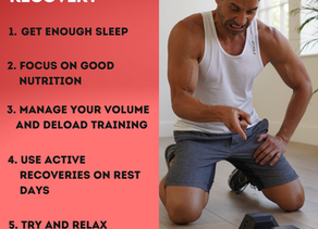 Tips For Improving Recovery