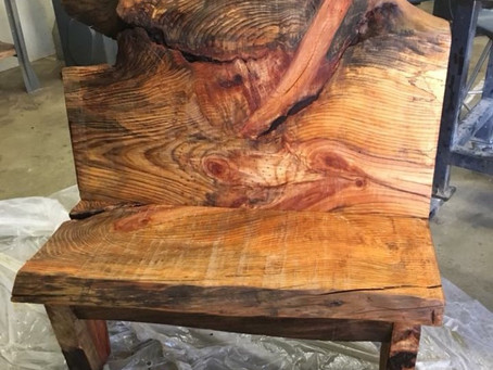 Hand-Crafted Bench Give-Away