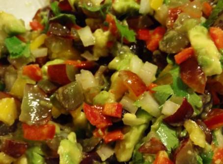 Grape & Avocado Salsa