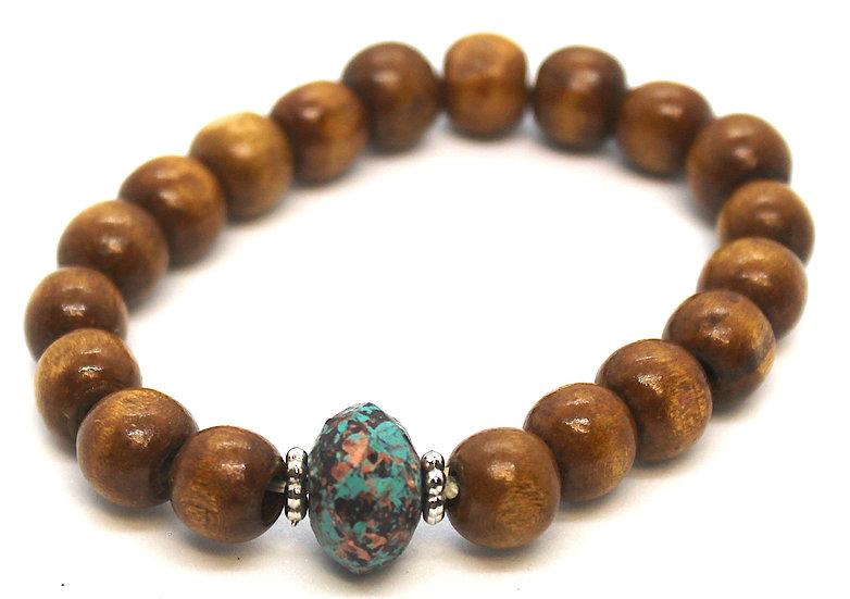 IMPSMMJB118 -Wood Bracelet