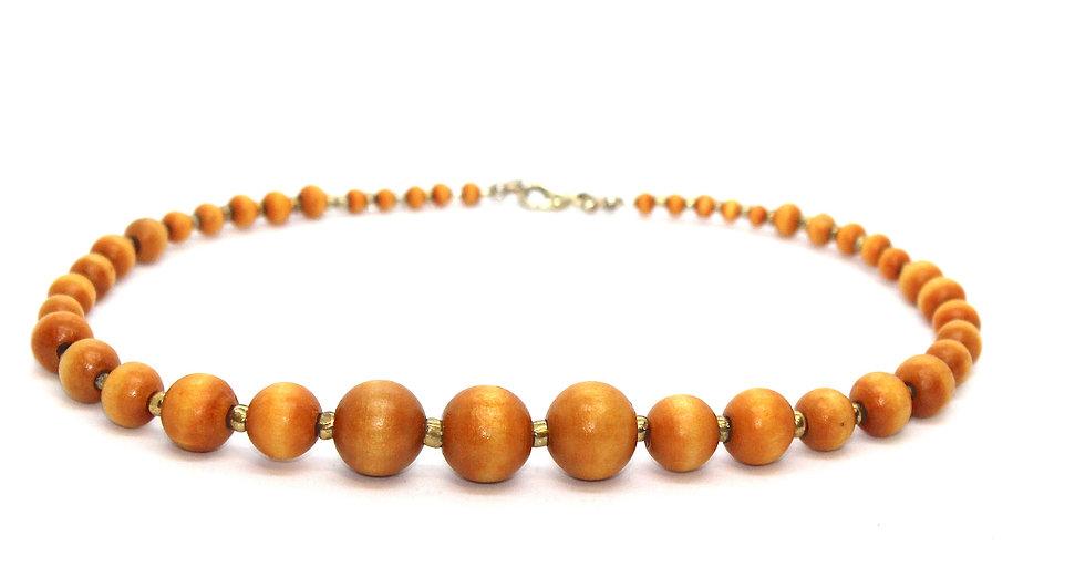 IMPSMMJN112 - Wood Necklace
