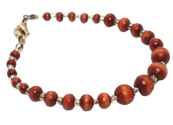 IMPSMMJB113 - Wood Bracelet