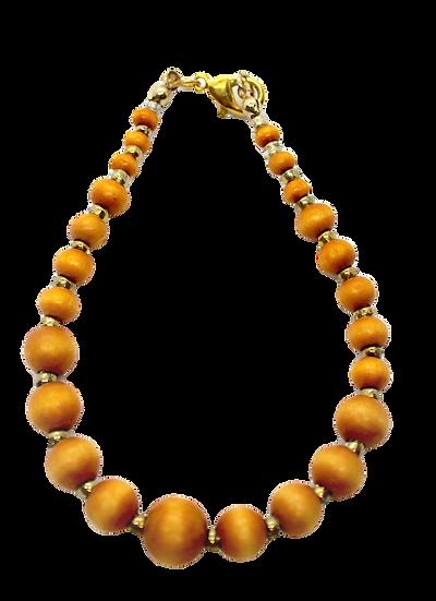 IMPSMMJB111 -Wood Bracelet