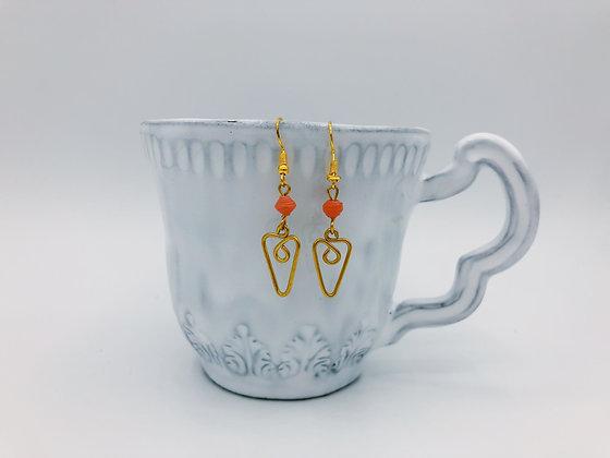 Dainty Wire Earrings