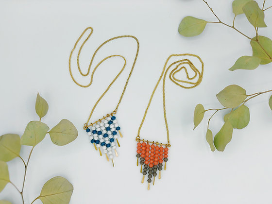 Pennant Pattern Necklace