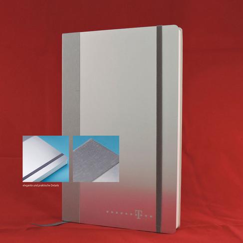 Notebook Alu I Notizbuch Aluminium