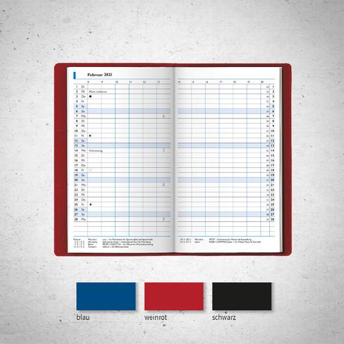 Taschenkalender I Modell 750