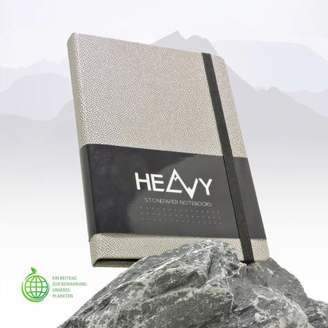 Stone Paper Book I Notizbuch