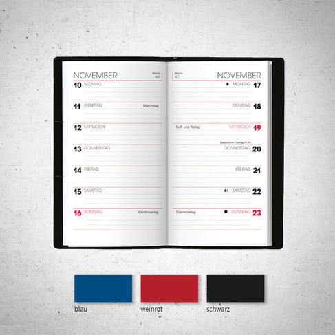Taschenkalender I Modell 715