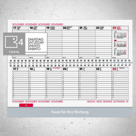 Tischkalender I Modell 772