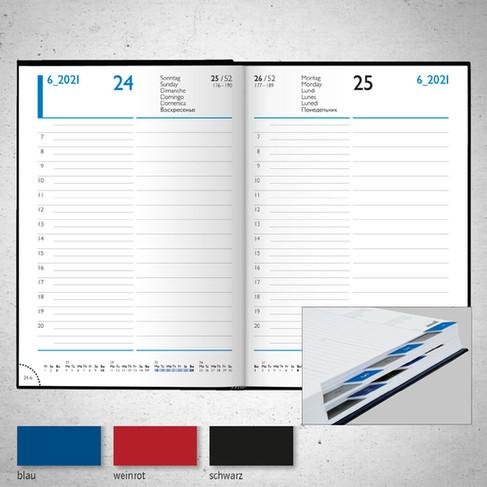 Buchkalender Elegance I Modell 798/898