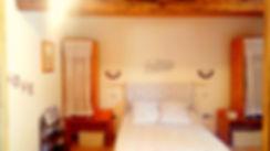 la chambre double du rez de chaussée du gîte Laguës