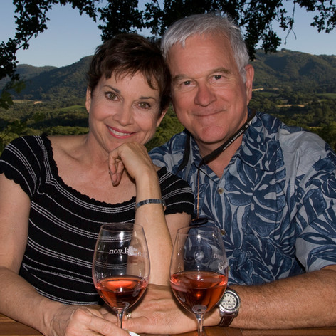Squire Fridell, American Actor/Winemaker and his wife Suzy Fridell