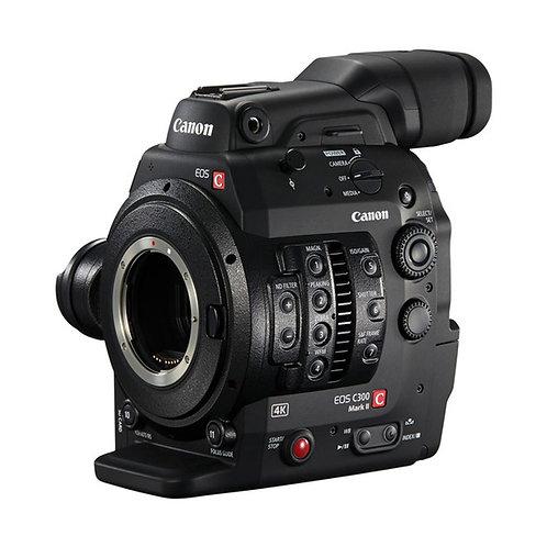 4K CanonCinema Camera EOS C300 Mark II