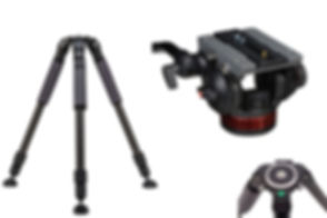 Induro-GIT203-and-Manfrotto-502AH-Pro-Vi