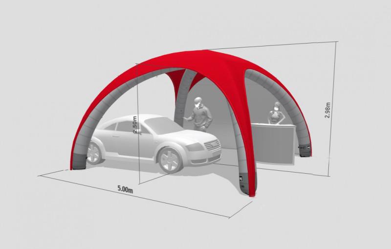 XGLOO-Drive-In-Zelt-Auto