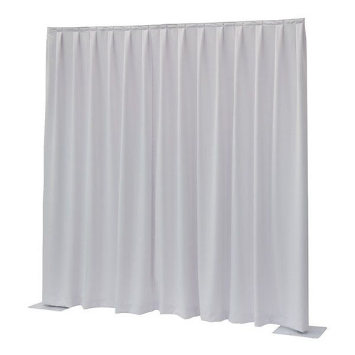 CURTAIN WHITE H400