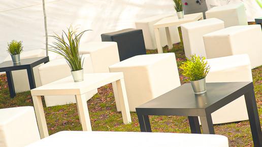 White & Black Basic Lounge