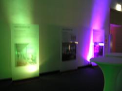Licht-Ambiente für Messe Nbg.