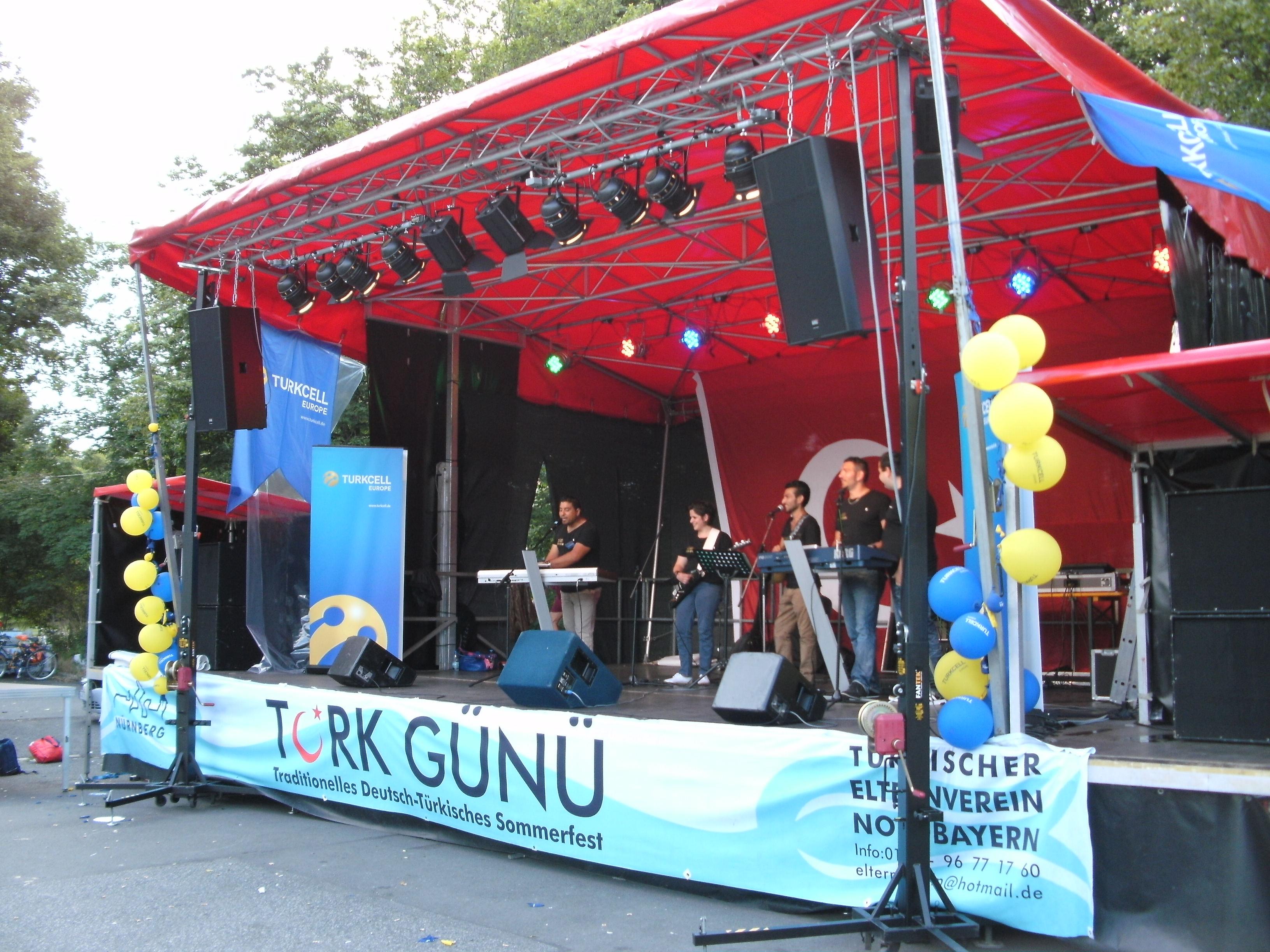 Festival Nürnberg Bühnen Technik
