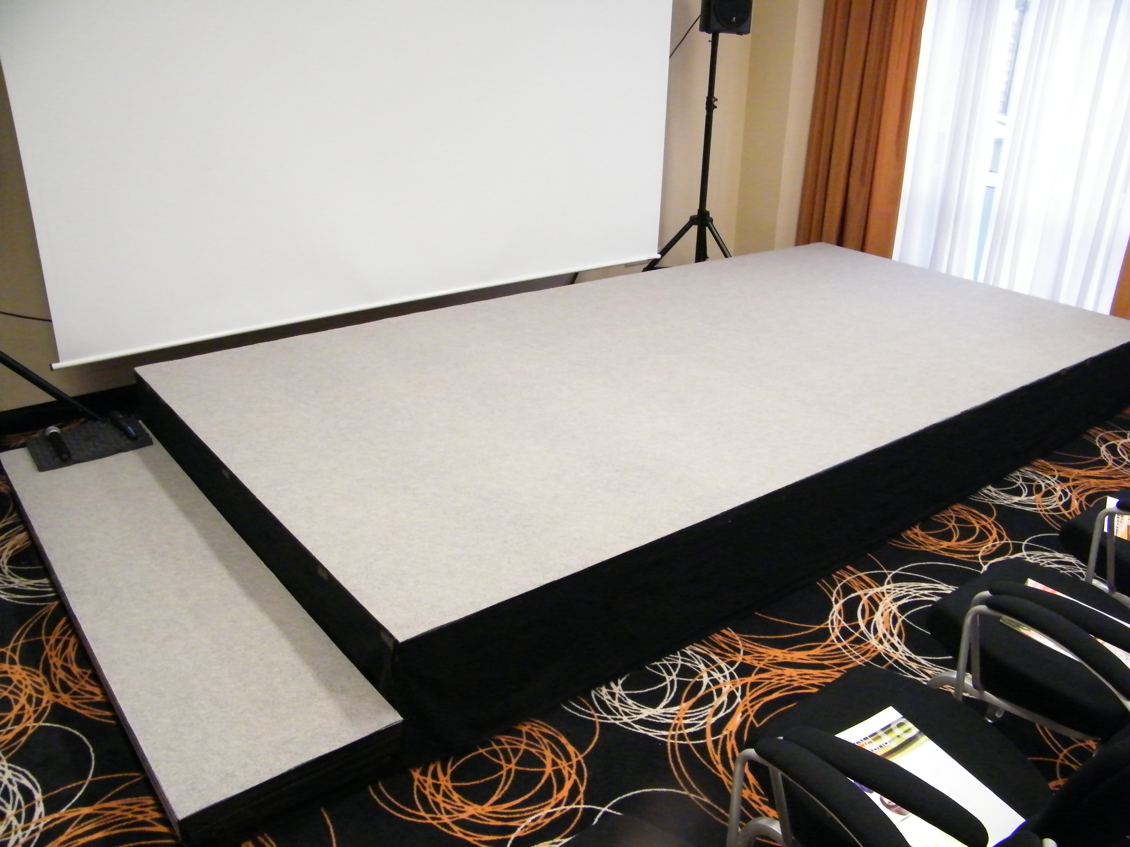 Bühne Hotel Tagung