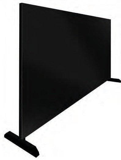 STELLWAND 350 BLACK