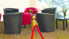 Red & Black Lounge