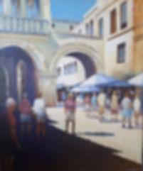 Polenca original acrylic on canvas by Car Jacobs at MASA-UK Art Gallery in Bury