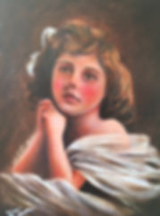 Art in Bury, local artist, oil on canvas, framed
