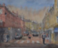 Bury Silver Street by David Bullock at MASA-UK Art Gallery
