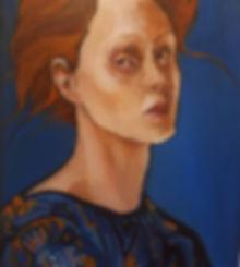 Original portrait art at MASA-UK Art Gallry and Gift, art in Bury, art in Manchester, art for sale, award winning artist, best female artist, portrait oil on canvas board