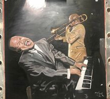 Piano Man by Michael Viger
