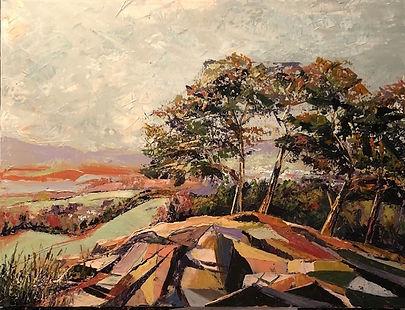 Castlehead Crag by Heather Burton at MASA-UK Art Gallery