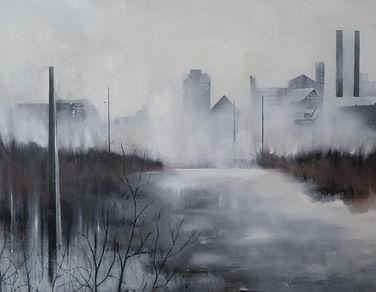 Autumn City-Oil on Canvas- 80cm_40cm.jpg