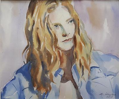 The Irish Girl by George Clayton