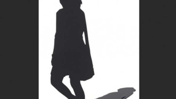 Shadow Figure, Woman with a Bag