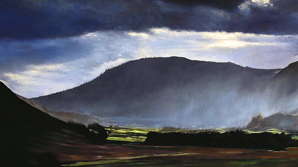 Lake District, landscape art, art collectors, Bury, France based artist