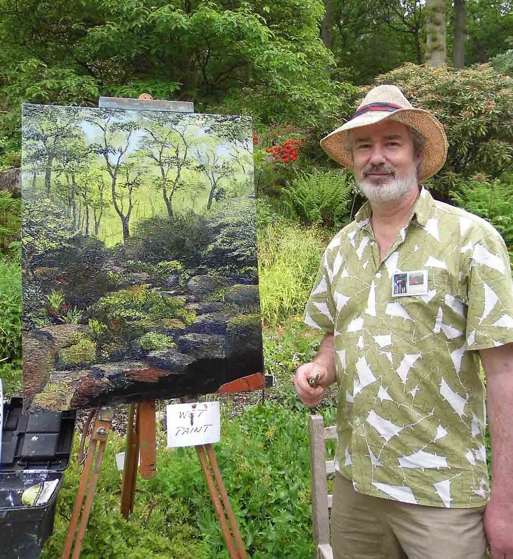 David Starley, original art, landscape artists, trees art, MASA-UK Art Gallery, art in Bury