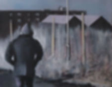 Walk-Oil on Canvas- 40_40cm.jpg