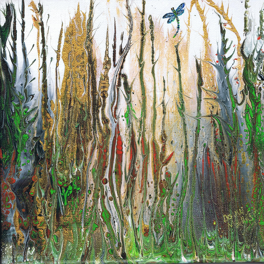 Denny McAllister- Rain Forest at MASA-UK Art Gallery