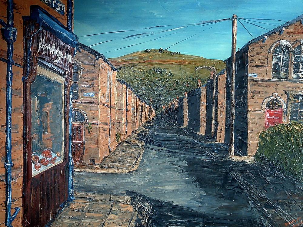 David Starley, art, original art, cityscape art, MASA-UK Art Gallery, Bury, Bury Art