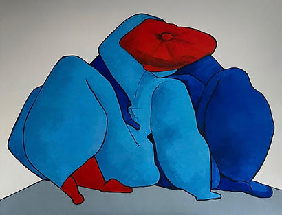 Lovers My Funny Valentine by Thailand based artist Ta Byrne available at MASA-UK Art Gallery, Greater Manchester and Artsy.net/masa-uk